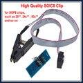 Высокое качество SOP8 SOIC8 Клип Зажим Для EEPROM 93CXX/25CXX/24CXX внутрисхемного программирования
