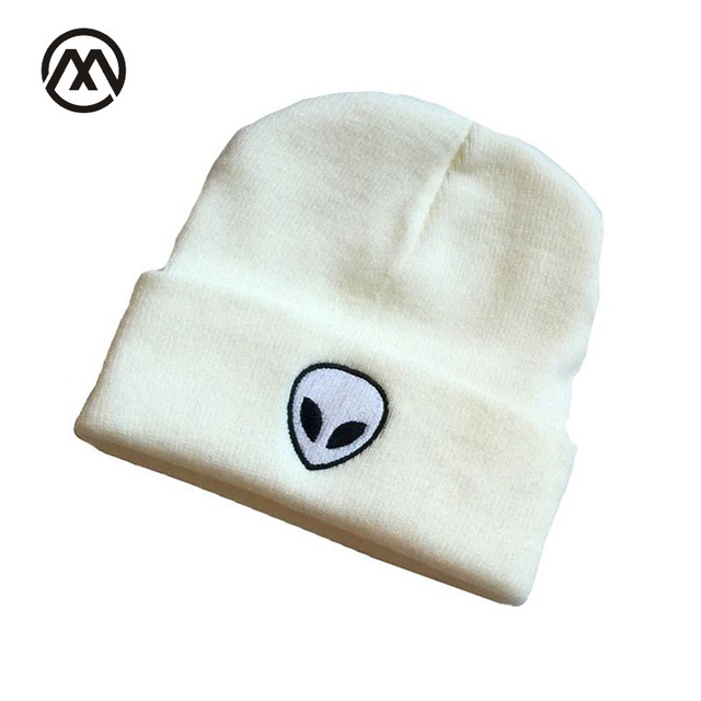 Aliexpress.com : Buy Alien UFO Winter Hat Women Skullies Beanies ...