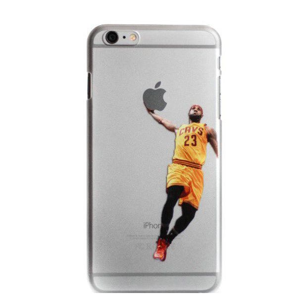 lebron iphone 6 case. phone case for iphone 6 transparent hard kobe lebron jordan curry westbrook clear cover 4.7\u0027\u0027 on aliexpress.com | alibaba group
