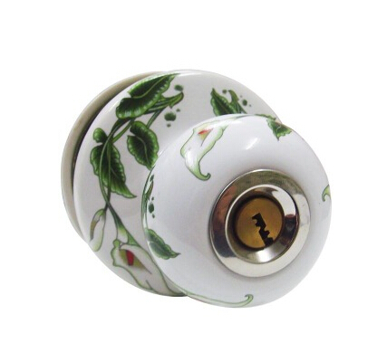 Ceramic lock the door when indoor European ball lock hold hand lock copper core  S001 vicky ward the liar s ball