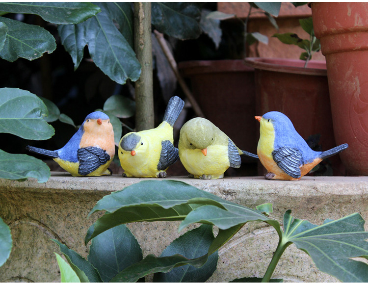 Crafts outdoors promotion shop for promotional crafts for Decorative birds for outside