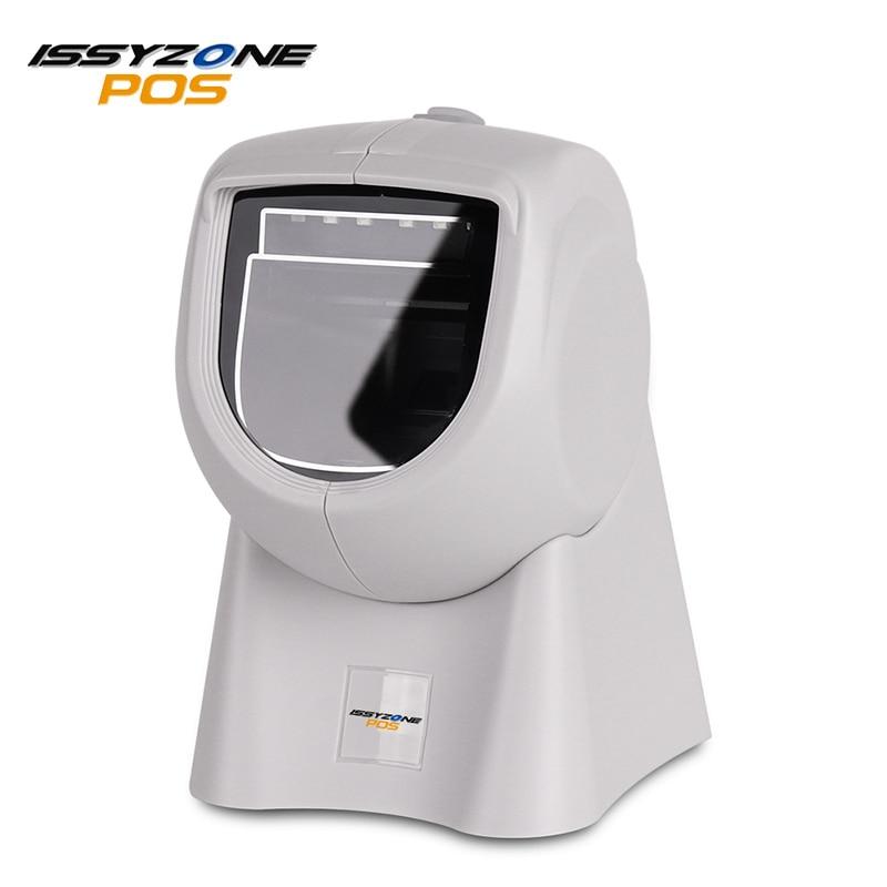 ISSYZONEPOS IOBC036 2D Настольный ручной сканер штрих-кода USB Всенаправленный сканер штрих-кода с красным CCD (прицеливание)/белый светодио дный