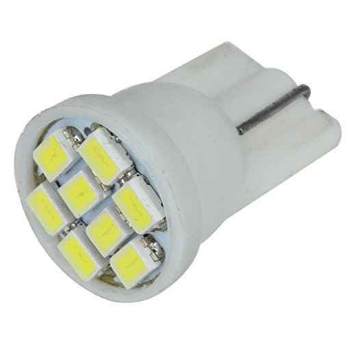 Led T10 W5W 8 smd 1206 8leds 8SMD Car Light 194 168 192 W5W 3020 Auto Wedge Lighting DC 12V Clearance Lights white 12v wholesale 10pcs high quality t10 w5w 6 leds 194 501 auto 5630 smd car interior lights clearance lamp wedge light dc 12v lens