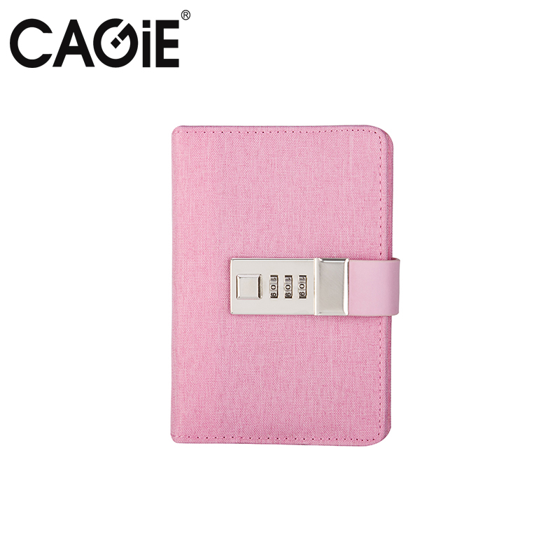 Diary with Lock Cagie Cute Diary Cloth Cover a7 Mini Notebook Lined Pages Paper Notebooks Personal Journal Beautiful Notepad my beautiful diary my beauty diary mask refreshing hydra lock combination 23 мл 12 шт черная жемчужина 8 алоэ вера 4 clinique gentle cleansing 30ml 2