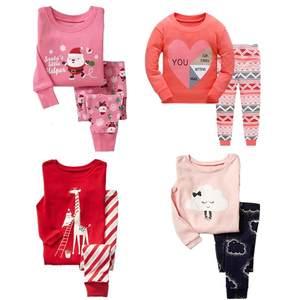 35b1e387d8 OLCLNORY girls pajamas Children pijama Kids Sleepwear