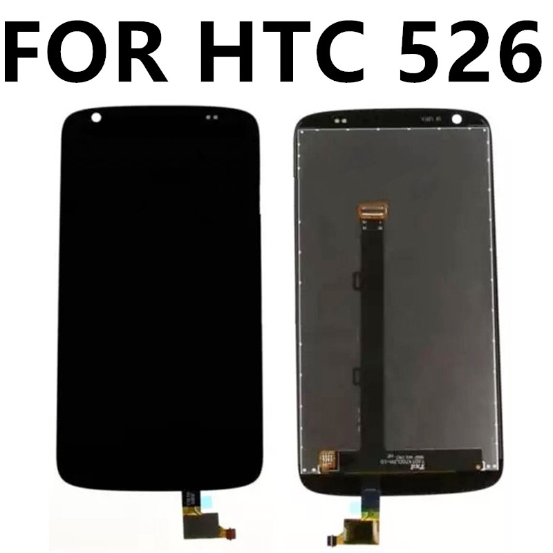ФОТО For HTC Desire 526 LCD 526H Desire326G D326H + brand new  touch screen LCD screen assembly inside and outside the screen