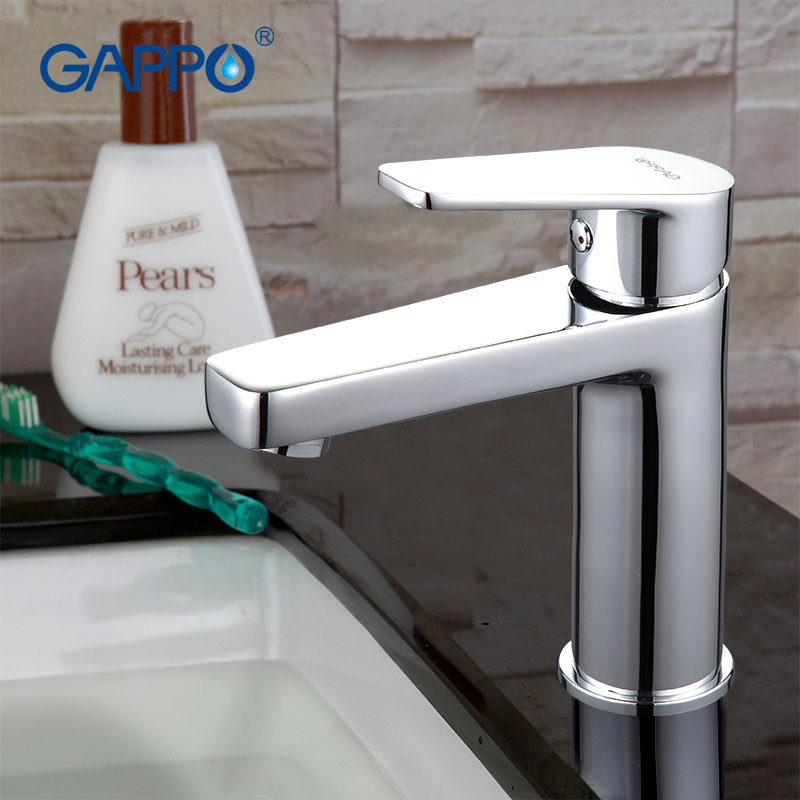 GAPPO Deck-mounted Chrome Bathroom Basin sink Faucet mixer waterfall torneira tap grifo Modern Style Single Handle G1098D sweet years sy 6282l 07