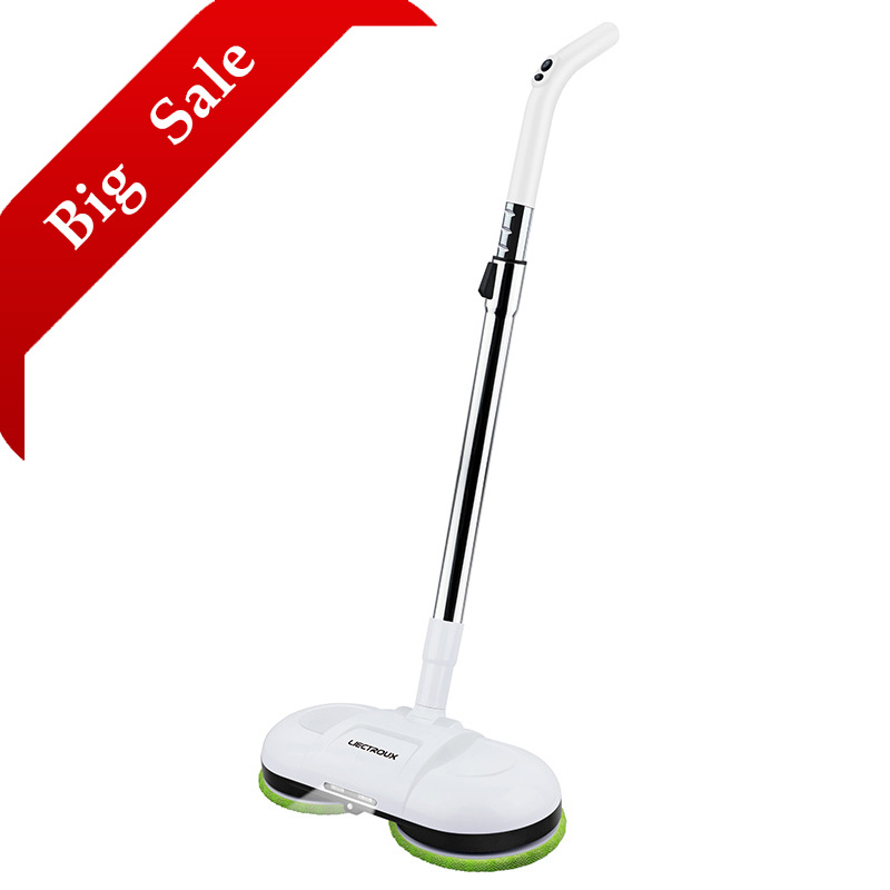 FBA LIECTROUX F528A Wireless Electric Mop with Waxing Wet Dry Cleaning Water Spay Mopping Robot