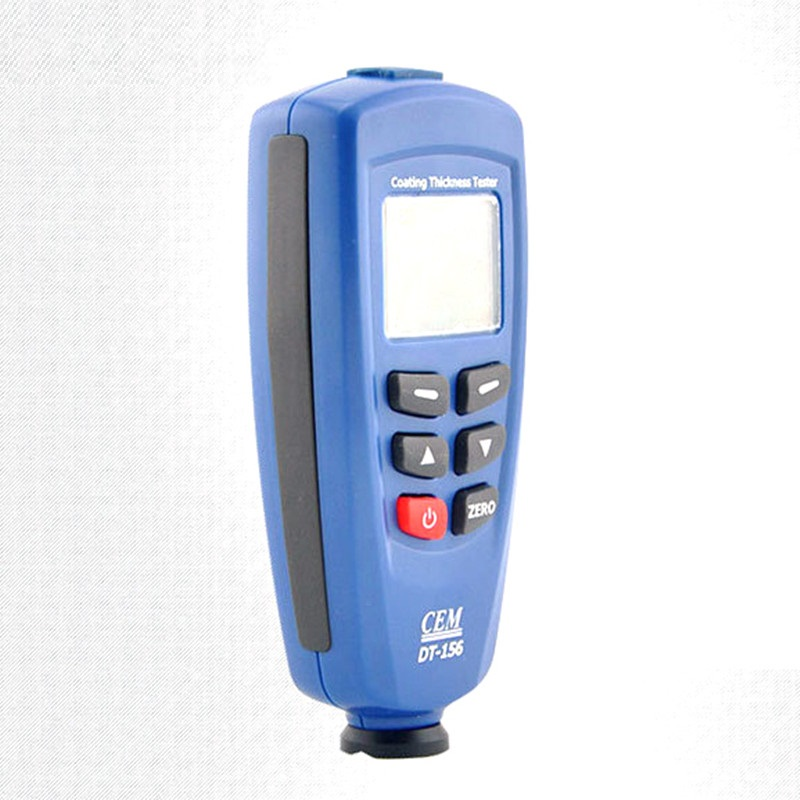 Digital Paint Coating Thickness Gauge Meter Tester 0~1250um with Built-in Auto F & NF Probe + USB Cable + CD software bside cct01 digital coating thickness gauge meter tester range 0 to 1300um 0 to 51 2mils with internal f n probe