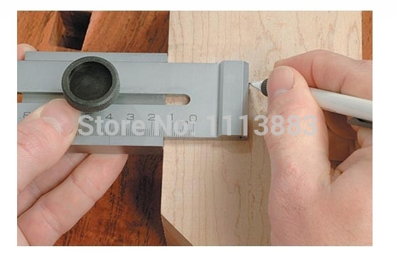Steel Marking Gauge (Stainless steel) 0-200MM, 0.1MM, Woodworking Measuring Tool, Mortising and Tenoning Machine Accessories