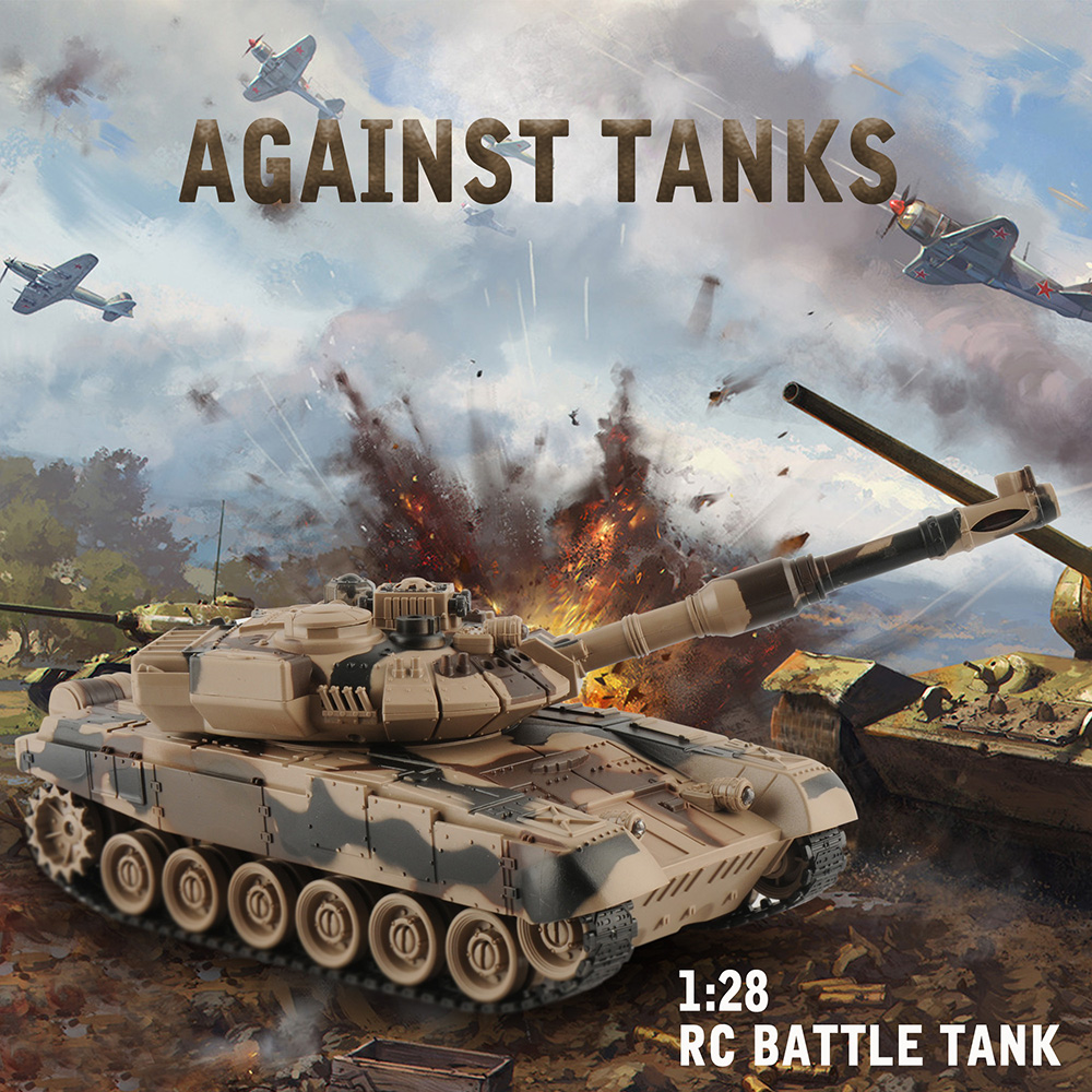 1/20 RC Tank 9CH 27Mhz Infrared RC Battle Tiger T90 Tank Cannon & Emmagee Remote Control Tank remote toys for boys rc tank battle crawlertank car model remote control tank decor remote control tank remote toys for boys