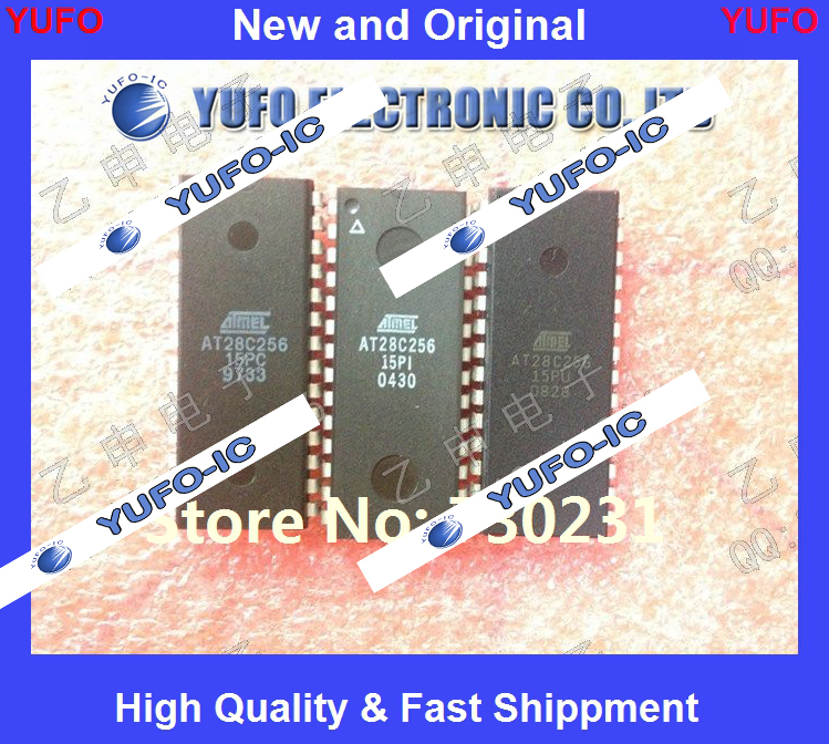 Free Shipping 5PCS AT28C256-15PC AT28C256-15PI AT28C256-15PU ensuring quality original authentic {} YF1004