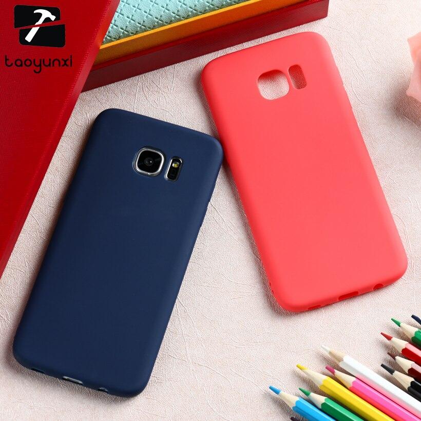 TAOYUNXI Чехлы для samsung Galaxy S6 SVI G920 G920F G920FD G920FQ G920I G920A G920T G920S/K G9200 G9208 силиконовый чехол сумка ...