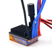Quik 30A RC hobby car brushless ESC 30A 2 3S 50g 2 way forward reverse brake crawler with setup function cooling fan optional