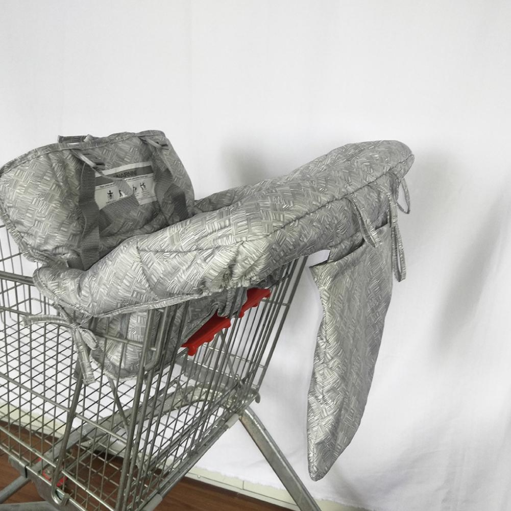 New Baby Children Folding Shopping Cart Cover Baby Shopping Push Cart Protection Cover Safety Seats For Kids Care