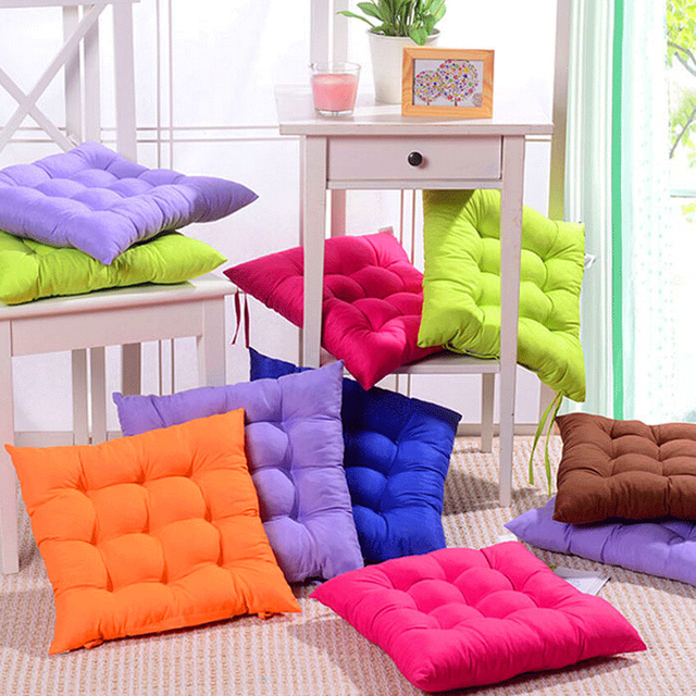 Beautiful Candy Colours Seat Cushion