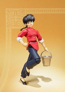 "Image 3 - Japan Anime ""Ranma 1/2"" Original BANDAI Tamashii Nations S.H.Figuarts / SHF Action Figure   Ranma Saotome"