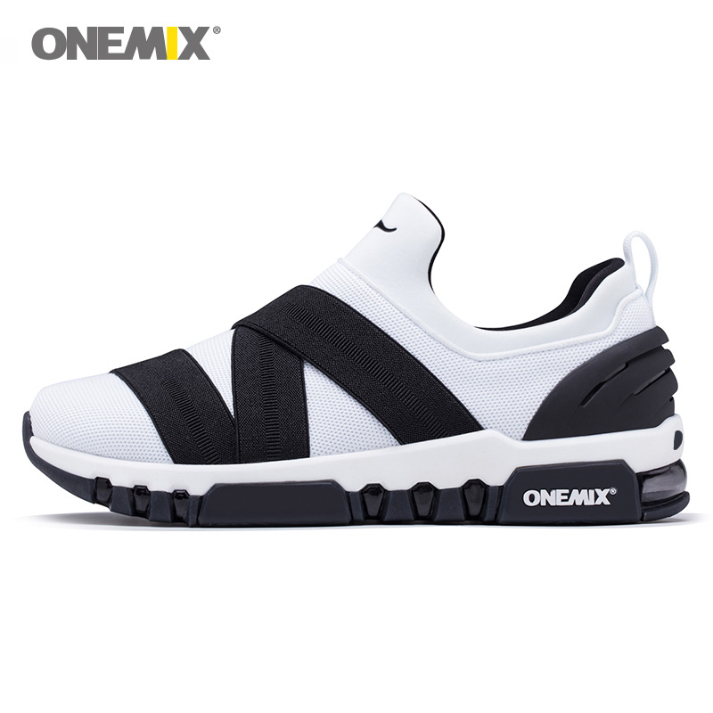 Max Woman Running Shoes Slip On Women Trail Nice Trends Athletic Trainers White Sports Boots Cushion Outdoor Walking Sneakers
