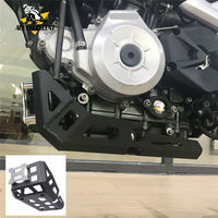 Moto Aluminum Black Bootom Skid Plate Engine Guard Protector Chassis Cover For 2017 2018 BMW G 310 R G310 GS