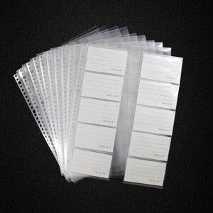 Image 1 - 20 sheets/lô A4 30 lỗ Lá Lỏng Lẻo Thẻ Bộ Sưu Tập Túi, Túi Rõ Ràng Tấm Bảo Vệ