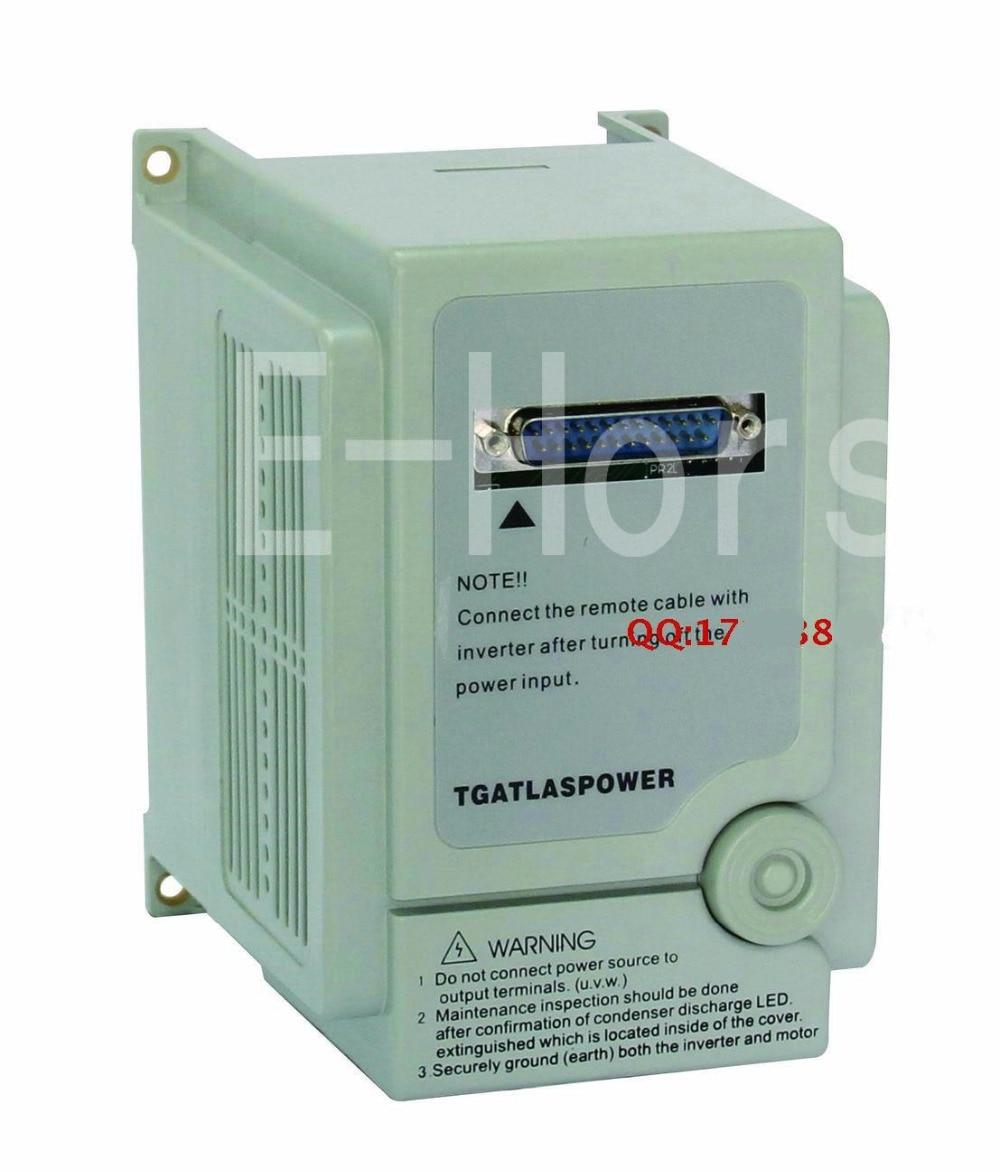 TGATL ASPOWER VFD  Inverter 220v 2.2KW  AS2-122  Drive 380v motor speed controller Free-shipping free shipping 24v dc mig welding wire feeder motor single drive 1pcs