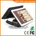 Haina Touch 15 pollice Dello Schermo di Tocco Doppio Schermo POS Terminale con lettore di Schede NFC
