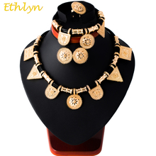 Ethlyn Rose Gold Ethiopian Jewelry Sets Eritrea Habesha sets Ethiopia Bride Wedding Jewellery Gift Sudan/Africa Item S073