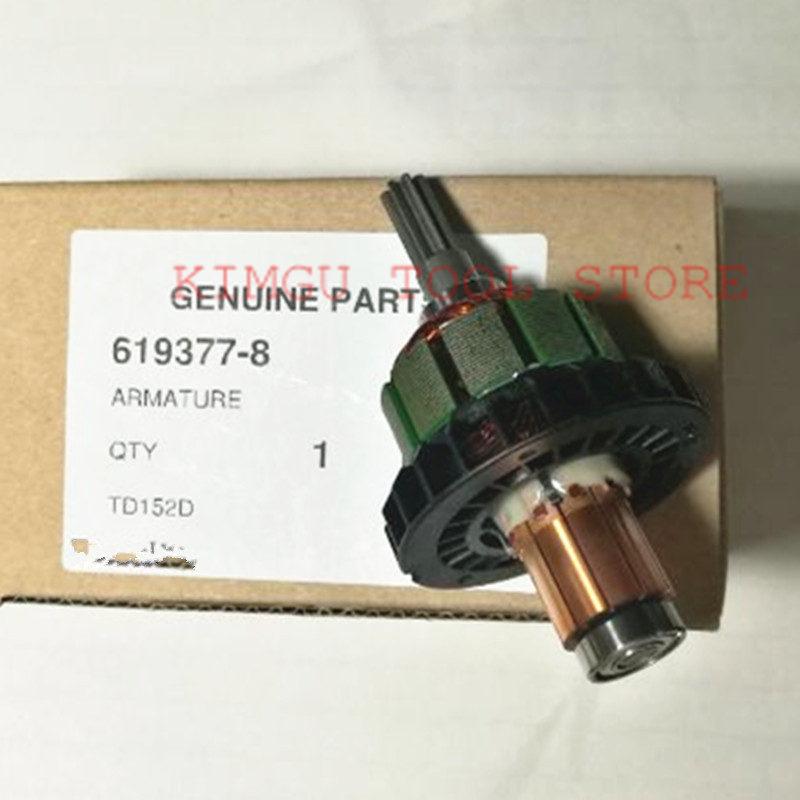 Genuine  Motor Armature Engine  619377-8 for Makita DTD152RME DTD152Z DTD152 TD152D BTD152 XDT11
