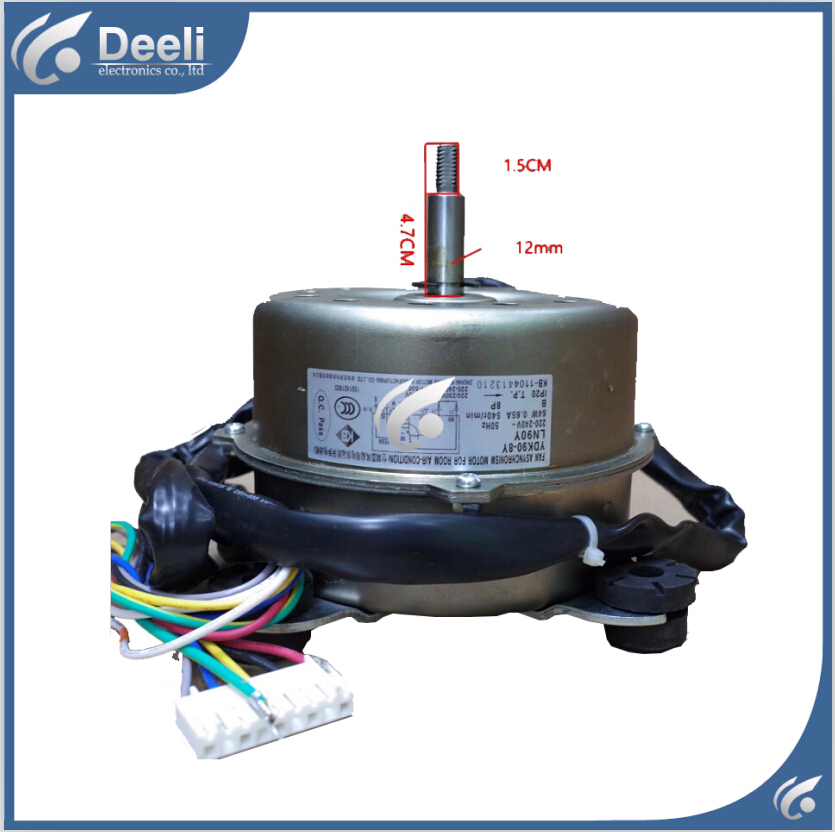 95% new good working for Air conditioner inner machine motor LN90Y YDK90-8Y Motor fan 95% new