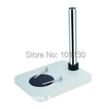 Microscope Pillar Flat Stand Base for Zoom Stereo Microscope binocular trinocular continuous zoom stereo microscope vertical base stand