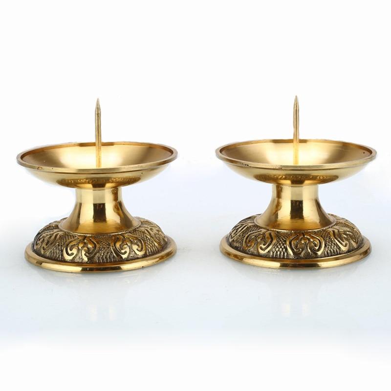 Lotus Candle Holders 2 Pcs 2