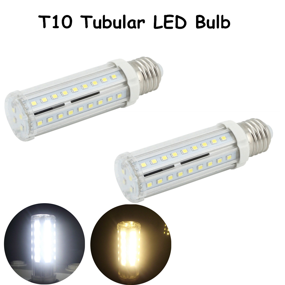 10W Medium Screw Base T10 Tubular LED Bulb  E26 E27 LED Corn Light Tubular Corn Bulb 60W Halogen E26 E27 Bulb Replacement e26 e27 15 1w led bulb