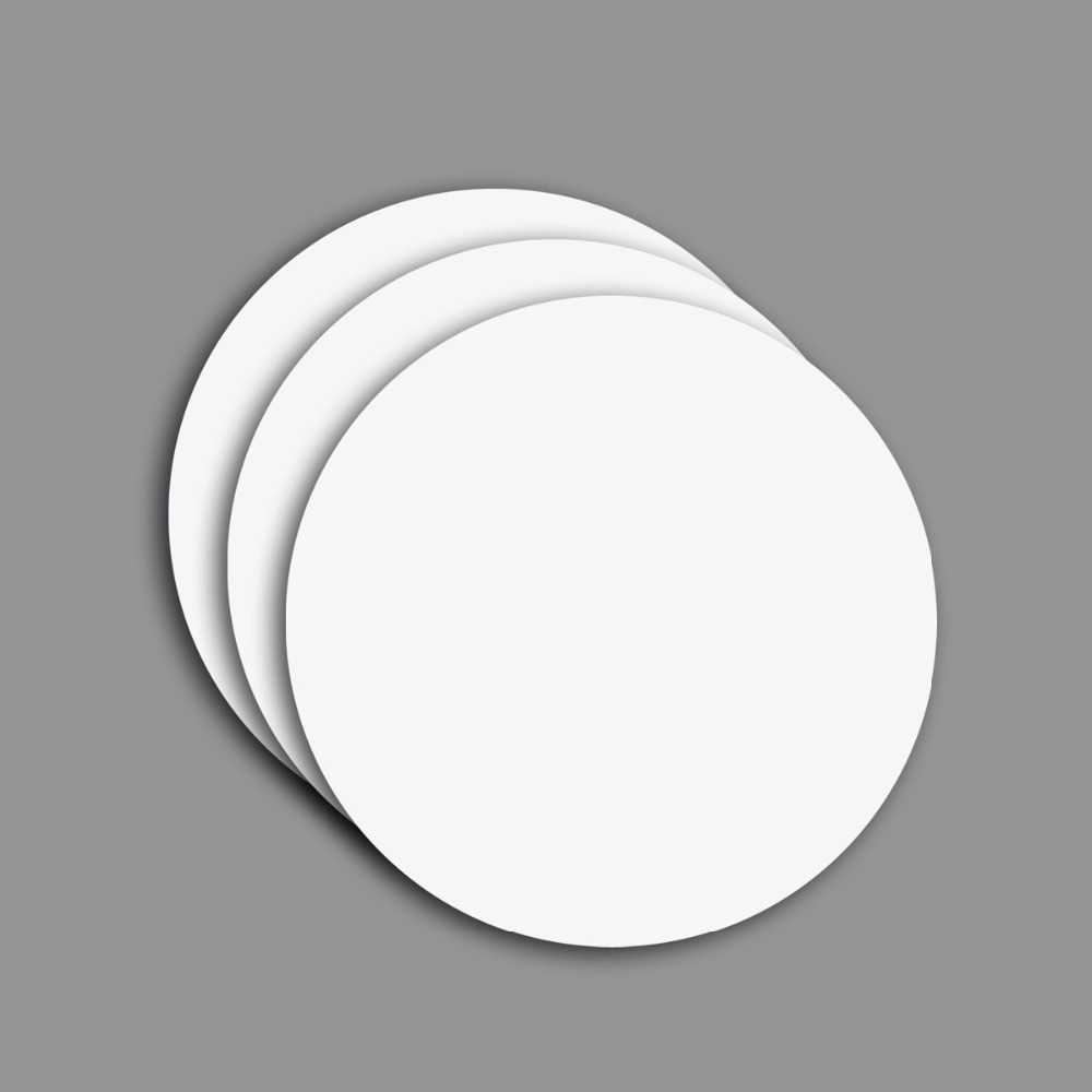 100pcs/Lot 25mm PVC 13.56MHz RFID Coin Tag Smart IC Card Fudan1108/F08 Full Compatible MF1 S50 For Access Control Payment System