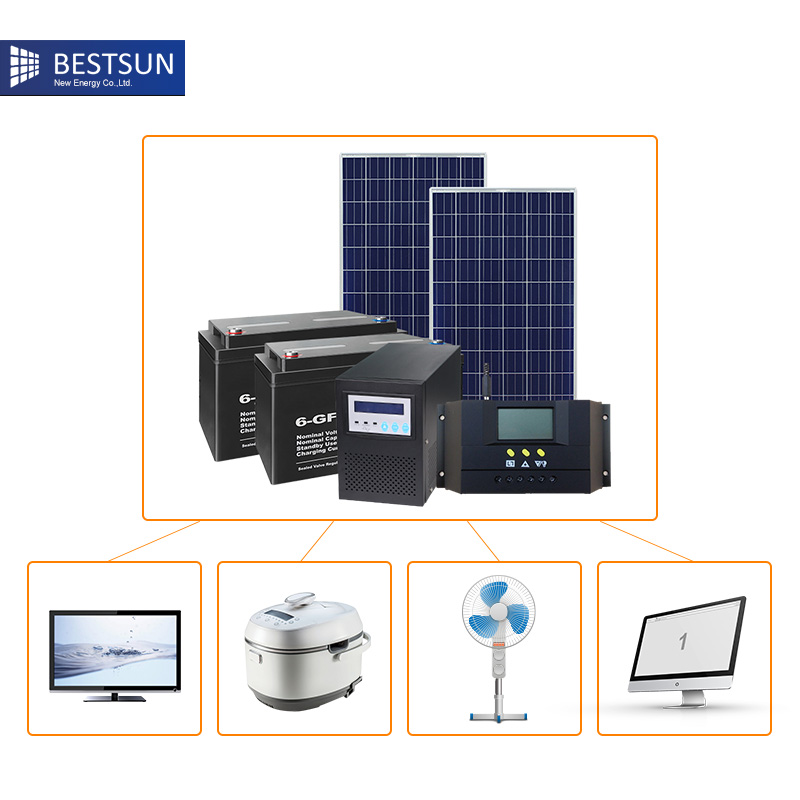 Home solar panel system 1000w portable solar kit for home - Panneau solaire 1000w ...