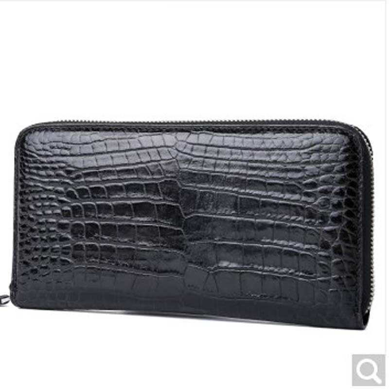 feikebeike 2018 new version real crocodile skin men clutch bags men bag purse large capacity hand bags all handmade ...