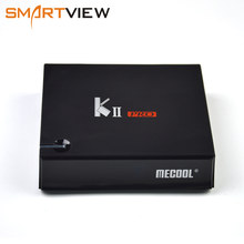 MECOOL Кии Pro Android 7,1 ТВ коробка K2 про DVB T2 DVB S2 телеприставку Amlogic S905D Quad-core 4 K Media player Поддержка BT4.0 Wi-Fi(China)