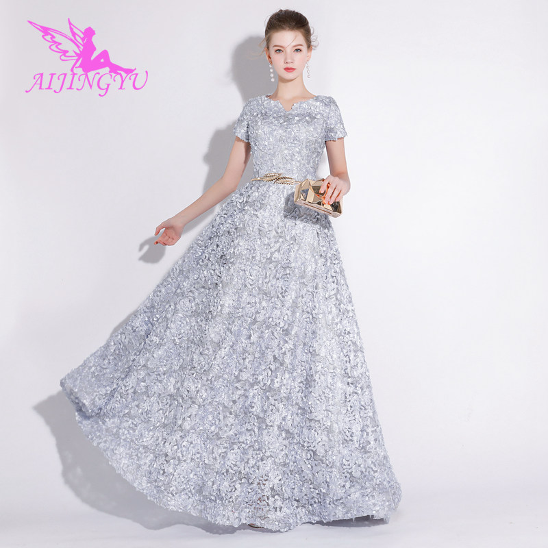 Aijingyu Plus Size Evening Dress Party Sexy Gown 2018 Women Elegant