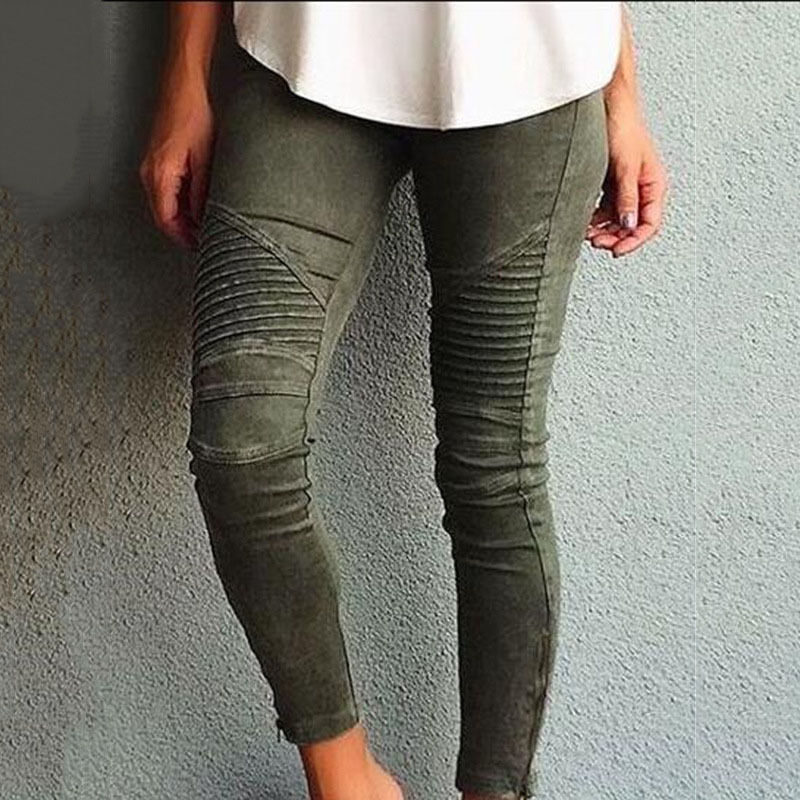 2016 NEW Women Popular Plus Size Cotton Slim Pants Colorful  Jeans Pencil Skinny inc international concepts plus size new charcoal pull on skinny pants 14wp $59