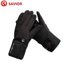 Спаситель S-20 литиевая батарея электро-Отопление зима ткани перчатки для катания на лыжах, езда, Велосипеды, низкая температура для мужчин и женщин