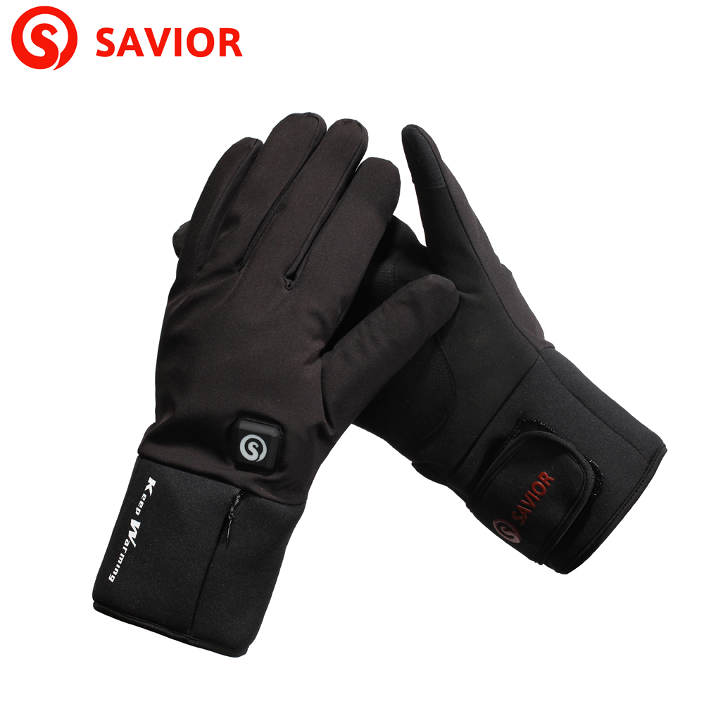 SAVIOR S20 Battery Electric Heating Gloves Winter Warm Gloves Suitable For Skiing, Cycling