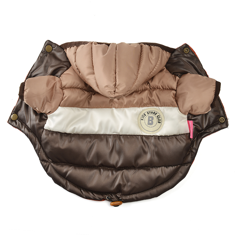Waterproof and Hooded Dog Jacket with Leash Hole Ideal for Autumn/Winter Season 2