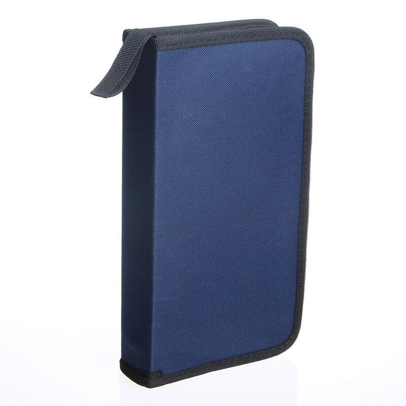 Home Storage Organization CD VCD DVD 80 Discs Storage Holder Cover Carry Case Bag Orananizer Storage Bags A20