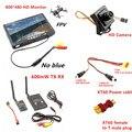 RC FPV Combo System 5.8Ghz 600mw Transmitter Receiver no blue Monitor 800TVL Camera DJI Phantom QAV250 CX20 Quadcopter walkera