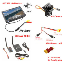 RC FPV Combo System 5.8Ghz 600mw Transmitter Receiver no blue Monitor 800TVL Camera DJI Phantom QAV250 CX20 Quadcopter walkera