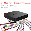 Europea IPTV Caja Android TV Box IPTV Receptor 1000 + Cielo Cielo Francés Turco Holanda Canales Mejor Que MXV Android Caja de la TV