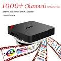 Europeu Caixa De IPTV Android TV Caixa Céu Receptor IPTV 1000 + Canais Sky Francês Turco Holanda Melhor Do Que MXV Android Caixa de TV
