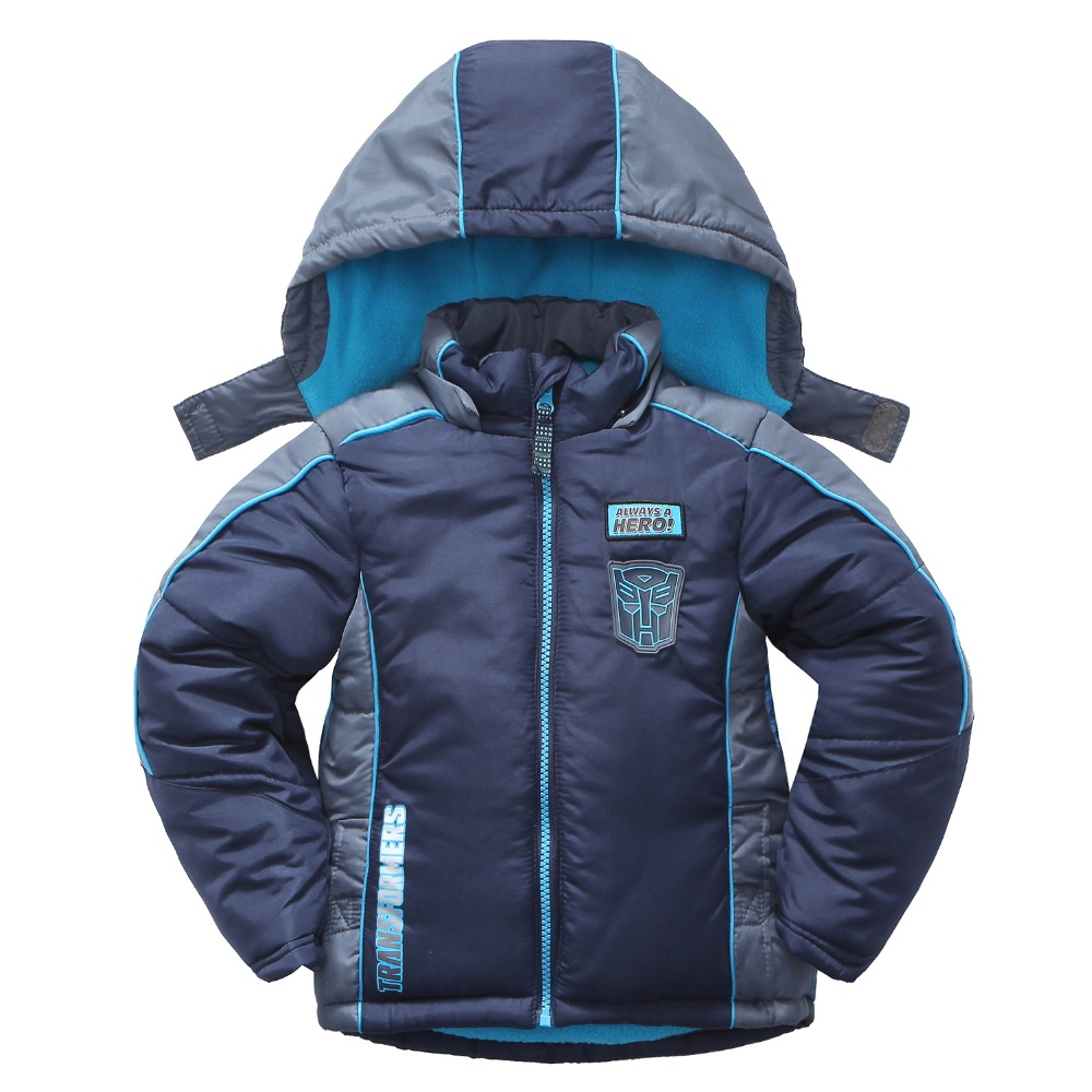 Polyester Children Winter Jackets For Boys Kids Winter Toddler Puffer Coats Warm Padding Baby ...