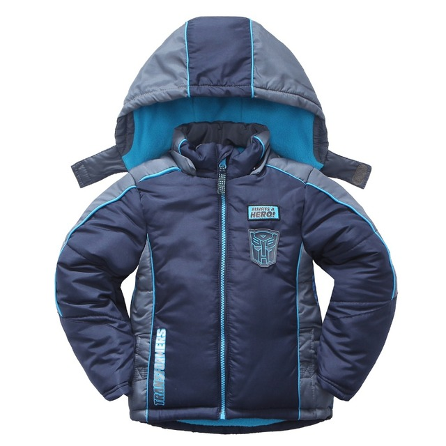 Polyester Children Winter Jackets for Boys Kids Winter Toddler Puffer Coats Warm Padding Baby Clothing 2017 Autumn Outerwear