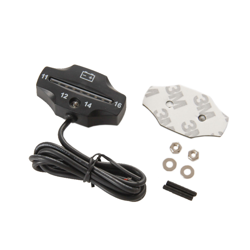 RL-BI006 Batareya Çarxı 9 LED batareya VOLT metr batareya - Motosiklet aksesuarları və ehtiyat hissələri - Fotoqrafiya 3