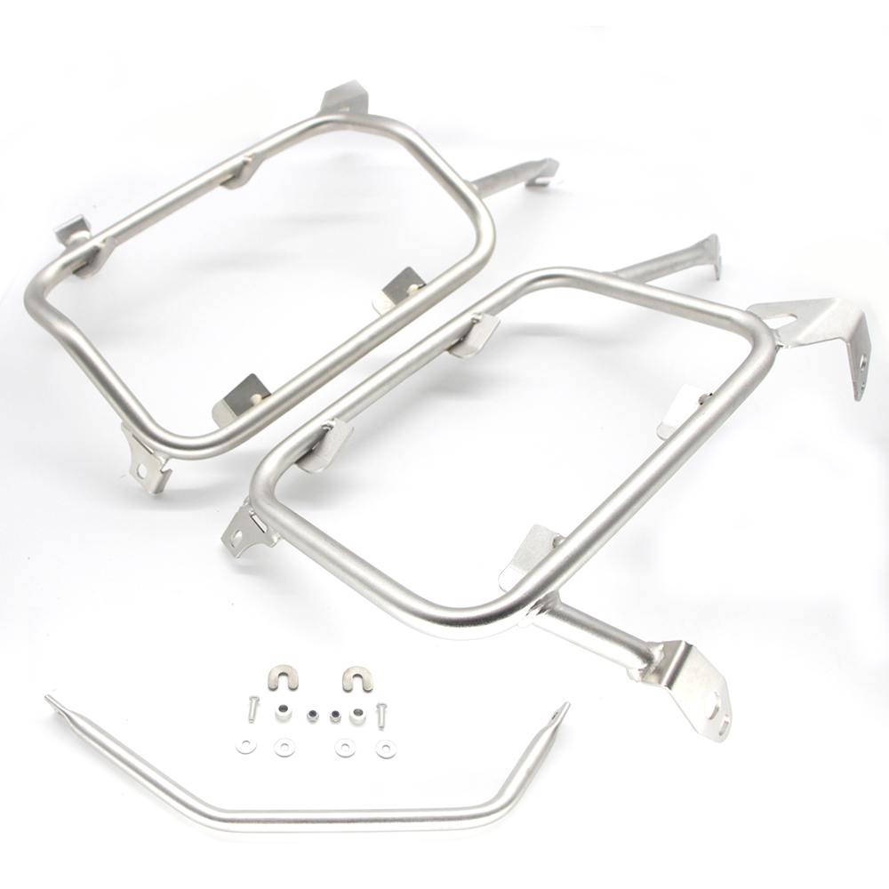 Image 4 - For BMW R1200GS R 1200 GS R1250GS/ADV LC 2013 2019 Motorcycle Panniers Rack Stainless Steel Saddlebag Bracket Top Case box Rack-in Covers & Ornamental Mouldings from Automobiles & Motorcycles